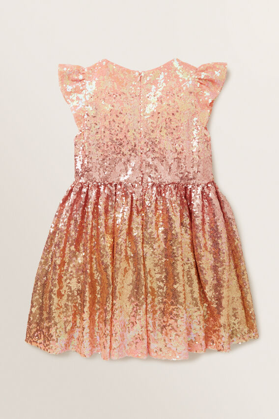 Ombre Sequin Dress  MULTI  hi-res