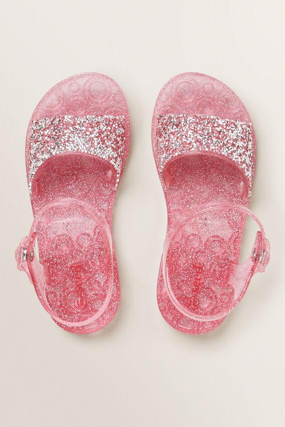 Gem Stone Jelly Sandal  PINK  hi-res