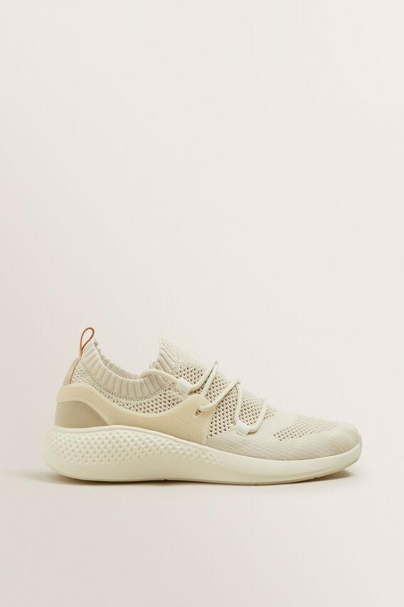 Jessie Knit Sneaker  CREAM  hi-res
