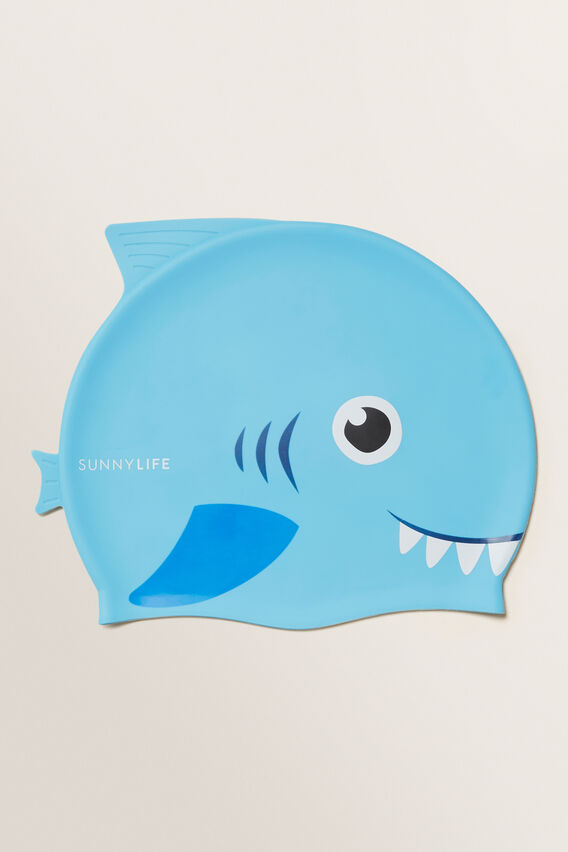Swimming Cap 3-9 Shark  MULTI  hi-res
