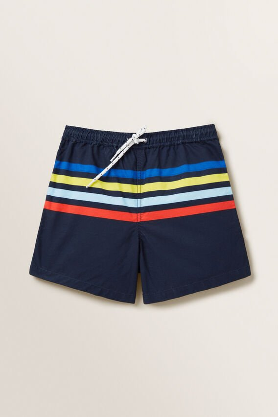 Stripe Boardshorts  MIDNIGHT BLUE  hi-res