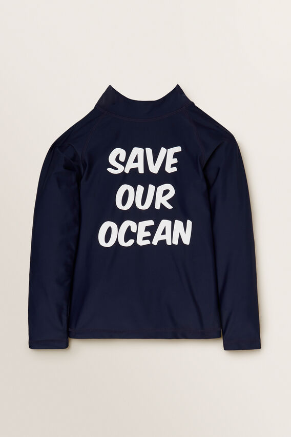 Slogan Rashvest  MIDNIGHT BLUE  hi-res