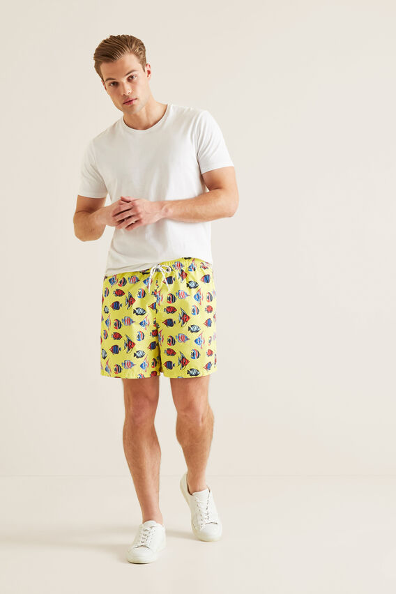 Mens Mini Me Fish Boardshort  STARFISH  hi-res