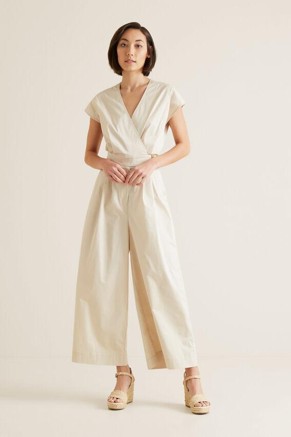 Belted Jumpsuit  SEPIA  hi-res