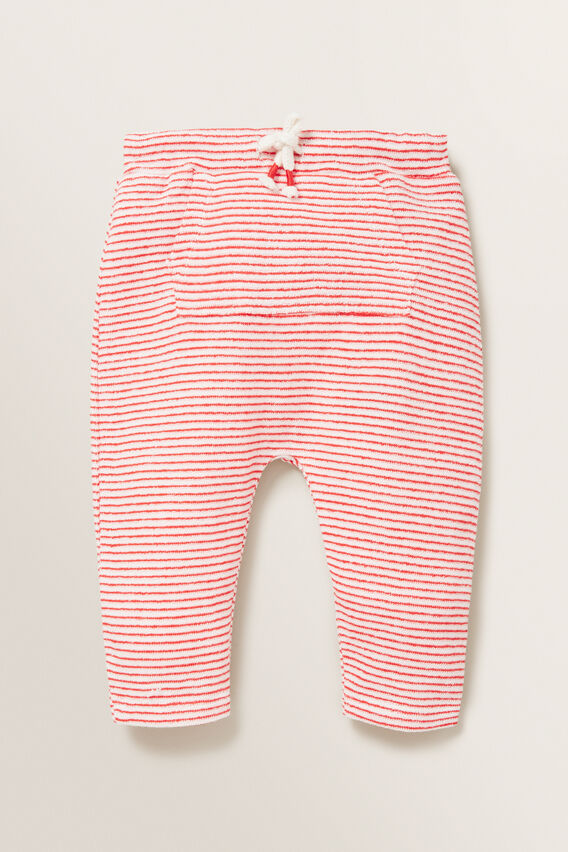 Loopy Terry Trackpant  BERRY  hi-res