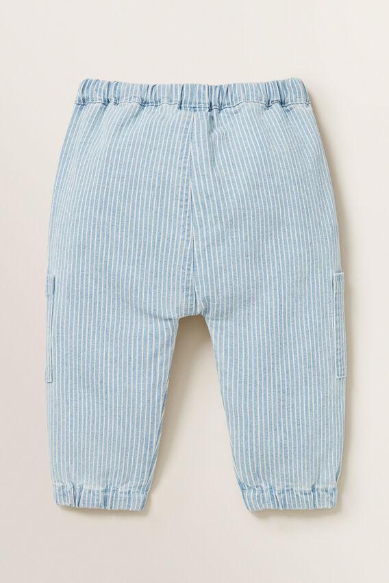 Stripe Pocket Pant  BLUE STRIPE  hi-res