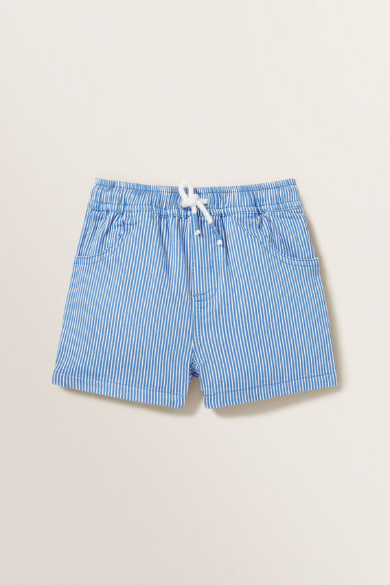 Favourite Short  BLUE STRIPE  hi-res