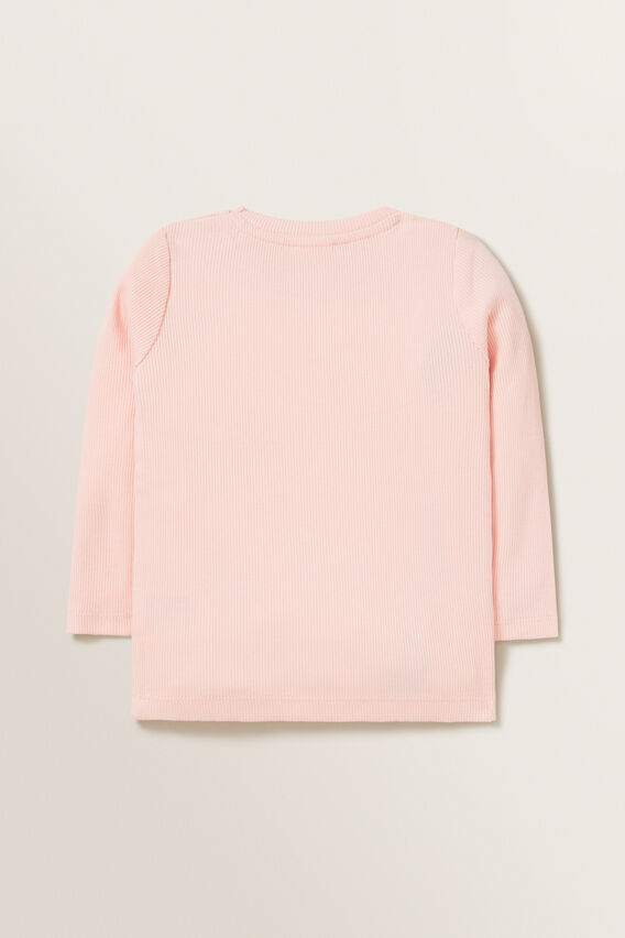 Rib Tee  DUSTY ROSE  hi-res