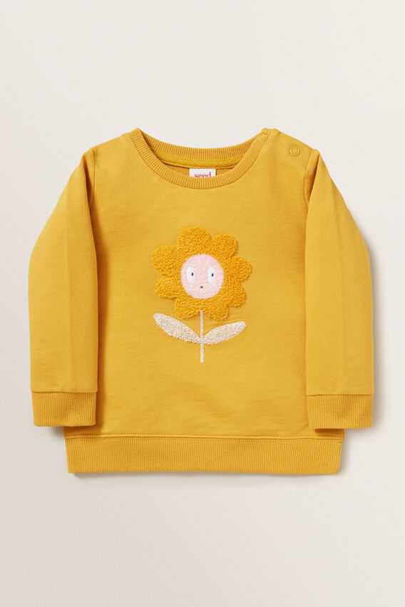 Daisy Windcheater  OCHRE  hi-res