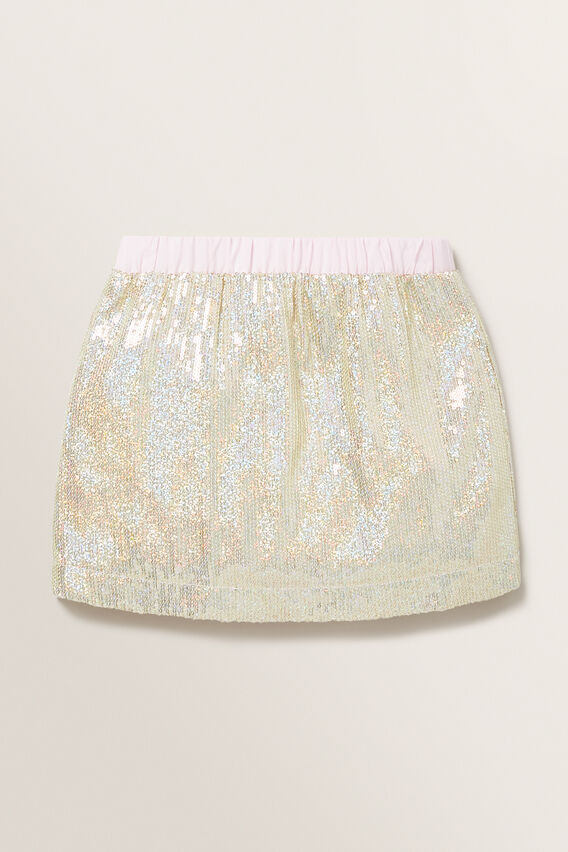 Sequin Skirt  GOLD  hi-res