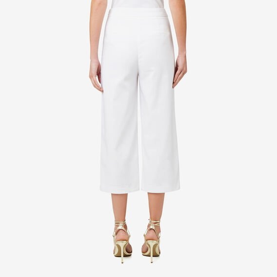 Cropped Pant  BRIGHT WHITE  hi-res