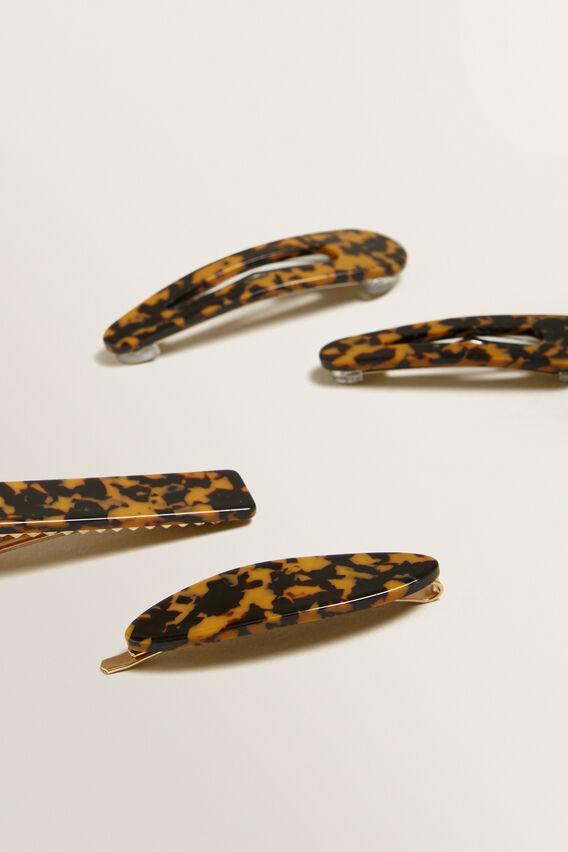 Resin Chain Clip Pack  ORANGE TORT  hi-res