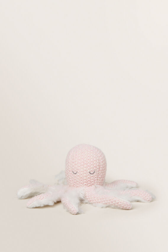 Octopus Rattle  PINK  hi-res