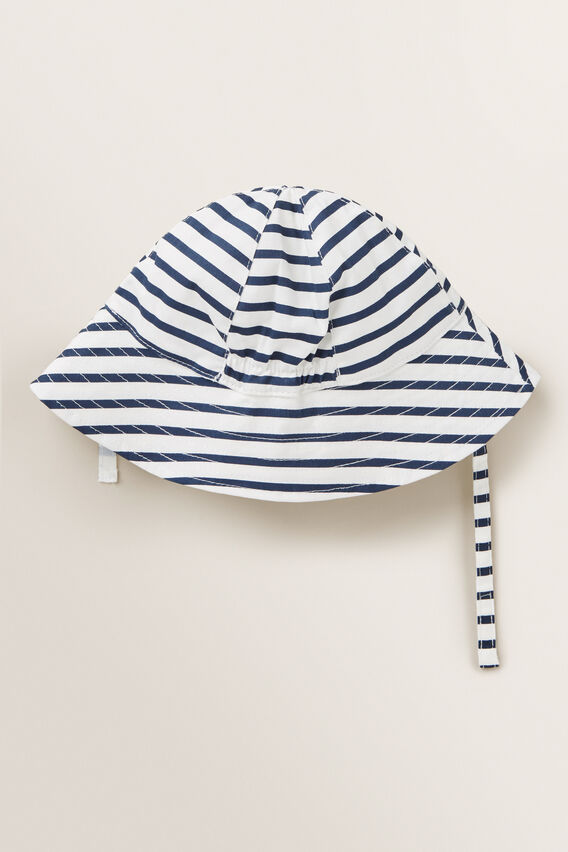 Stripe Smiley Sun Hat  MULTI  hi-res