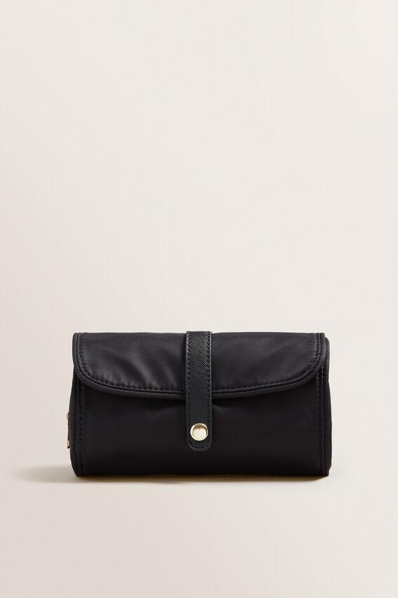 Folded Travel Case  BLACK  hi-res