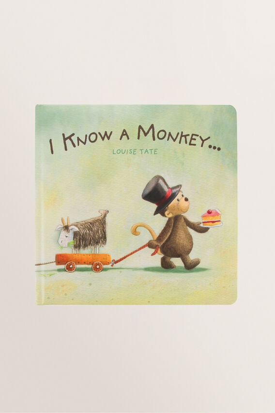 I Know A Monkey Book  MULTI  hi-res