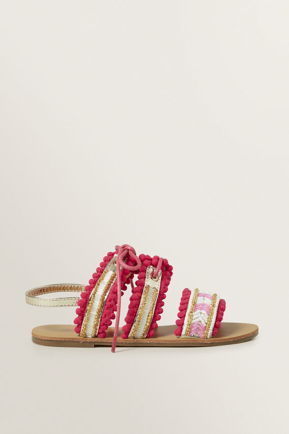 Beaded Sandal  MULTI  hi-res