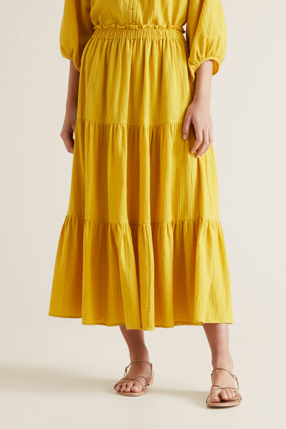 Cheesecloth Skirt  GOLD RUSH  hi-res