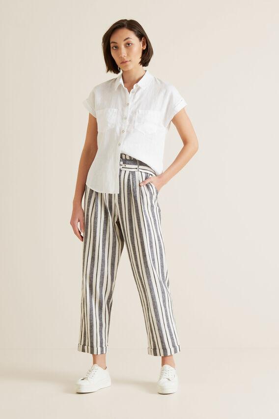 Variegated Stripe Pant  MULTI STRIPE  hi-res