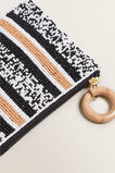 Beaded Pouch  BLACK MULTI  hi-res