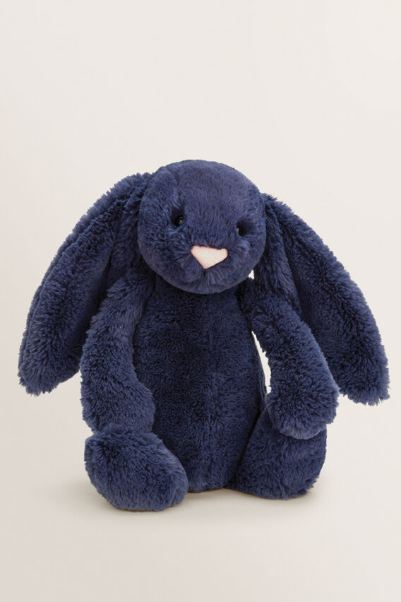 Medium Bashful Bunny  NAVY  hi-res