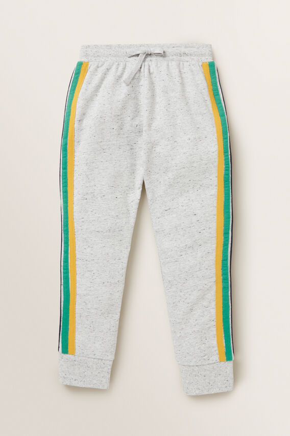 Retro Stripe Trackpant  CLOUDY MARLE  hi-res