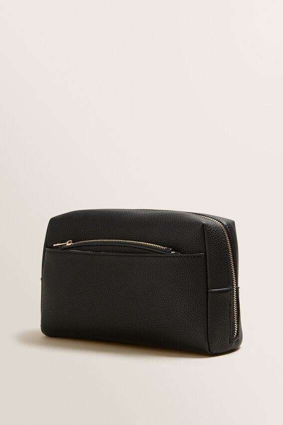 Travel Case With Pouch  BLACK  hi-res
