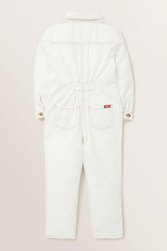 Boiler Suit  CREAM  hi-res