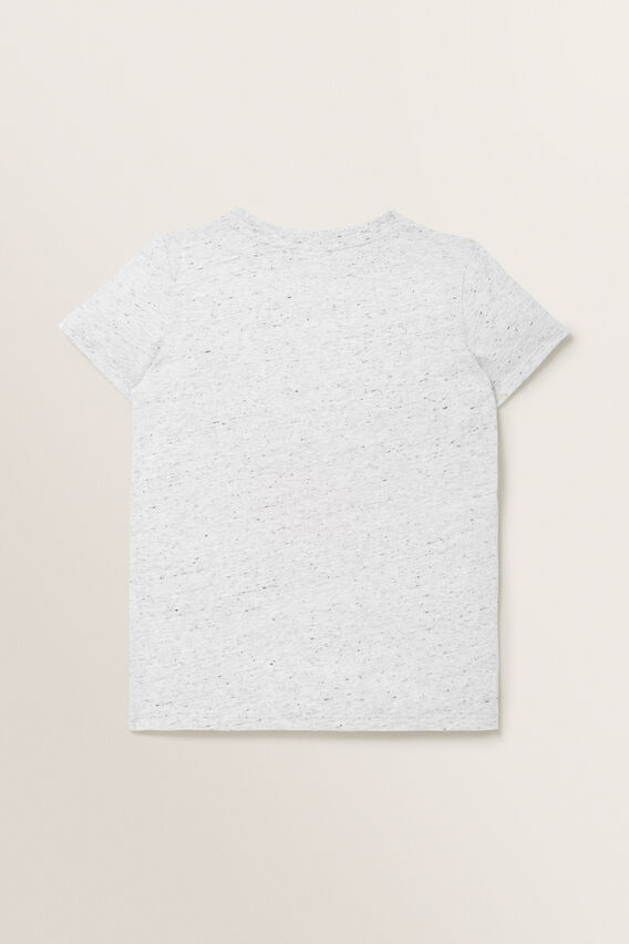 Monkey Chenille Tee  CLOUDY MARLE  hi-res
