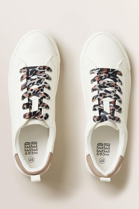 Ocelot Lace Trainer  OFF WHITE  hi-res