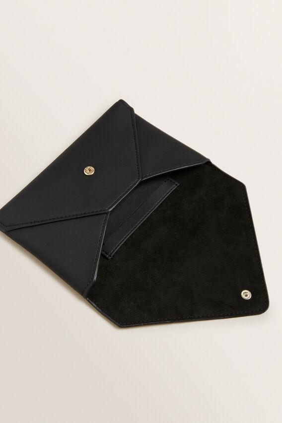 Envelope Clutch  BLACK  hi-res