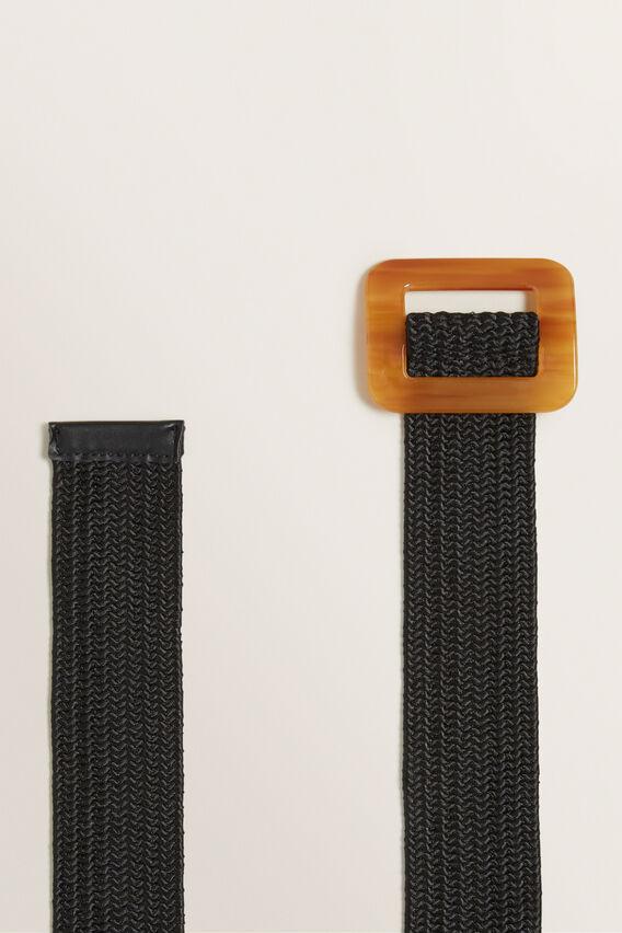 Buckle Waist Belt  BLACK  hi-res