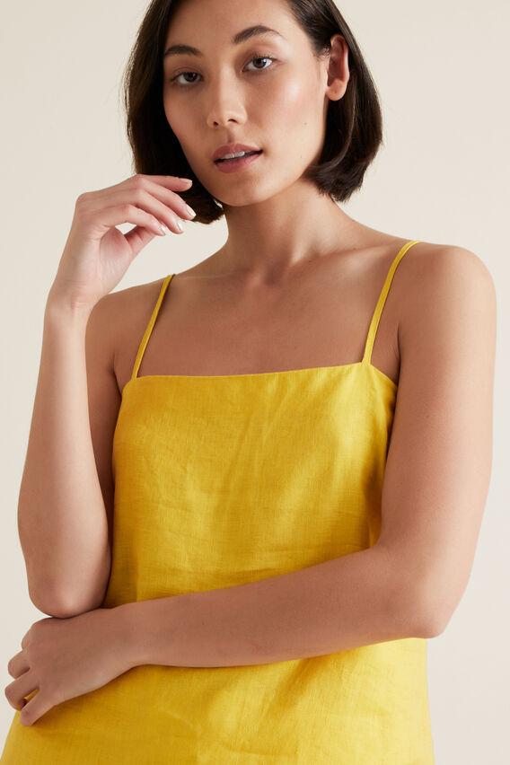 Linen Cami  GOLD RUSH  hi-res