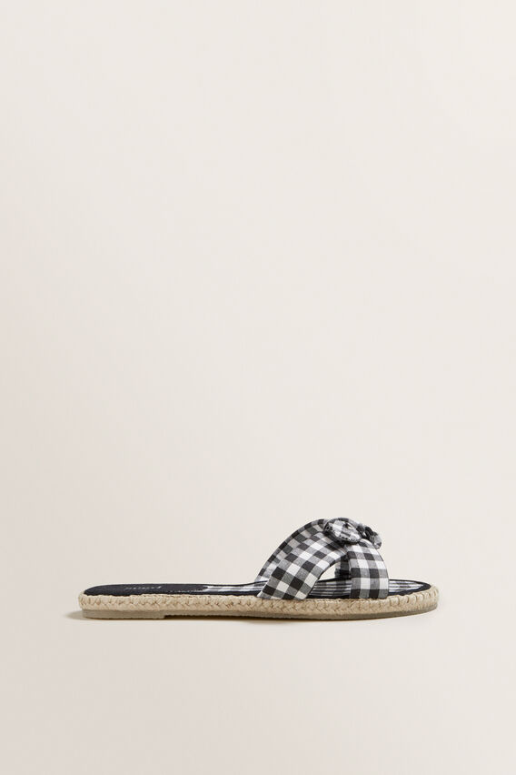 Milly Bow Espadrille  GINGHAM  hi-res