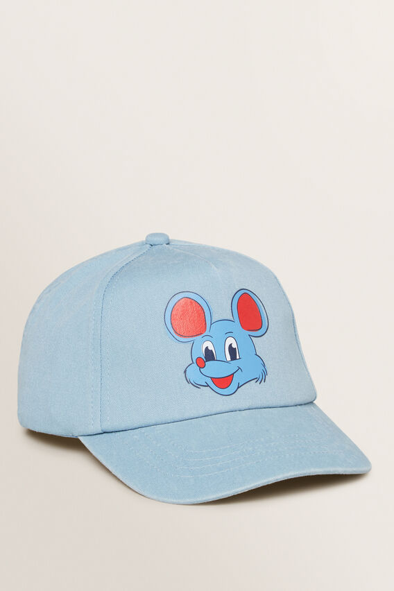 Mouse Cartoon Cap  CLOUD BLUE  hi-res