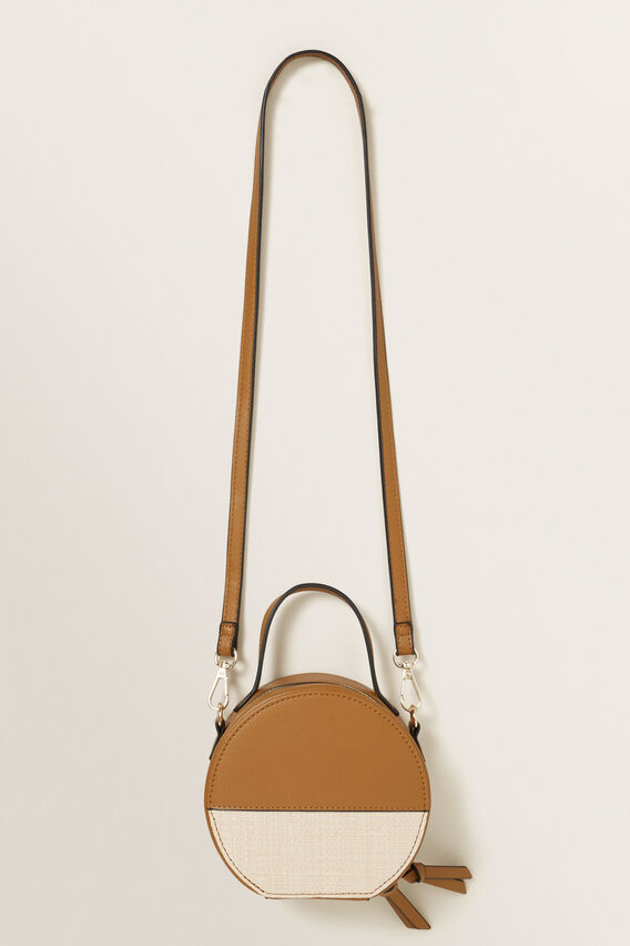 Splice Circle Bag  TAN  hi-res