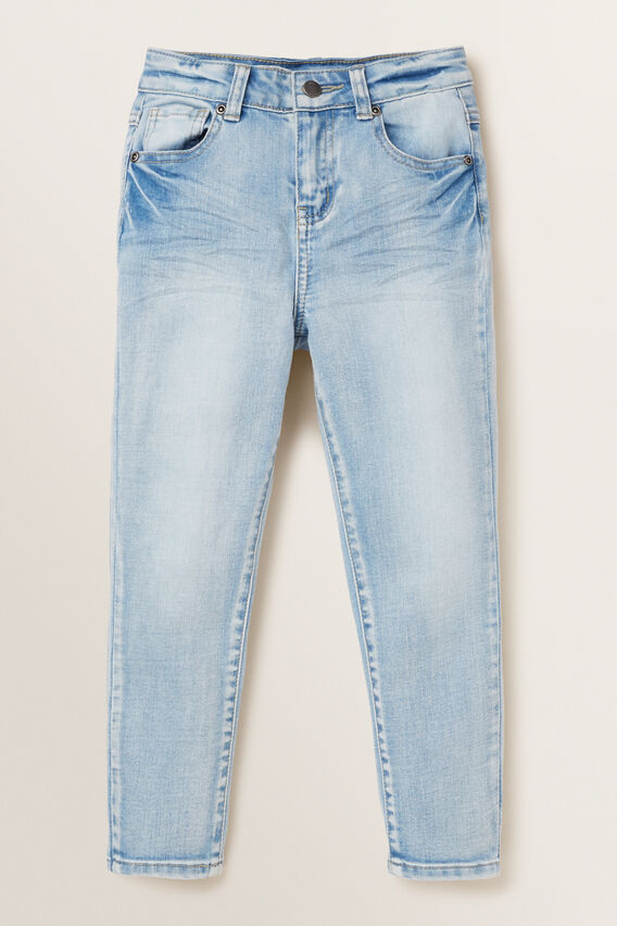Washed Jean  POWDER BLUE WASH  hi-res