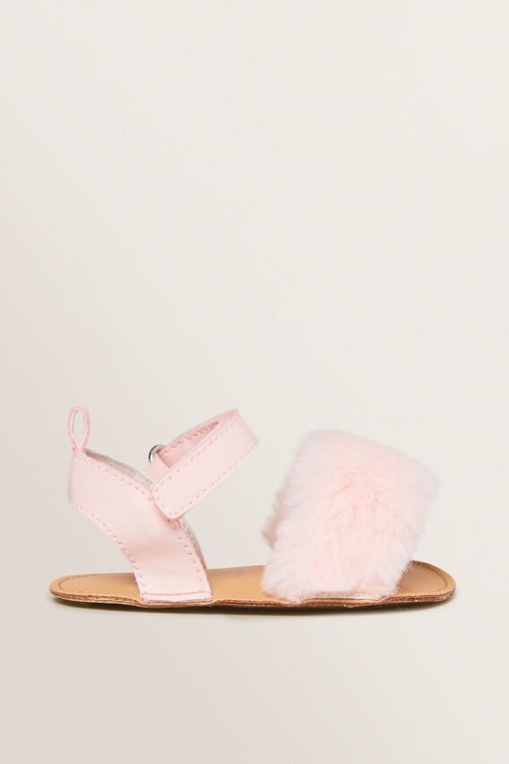 Fur Sandal  DUSTY PINK  hi-res