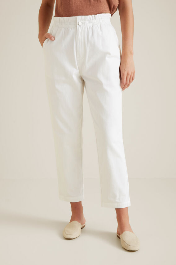 Paperbag Pant  WHITE  hi-res