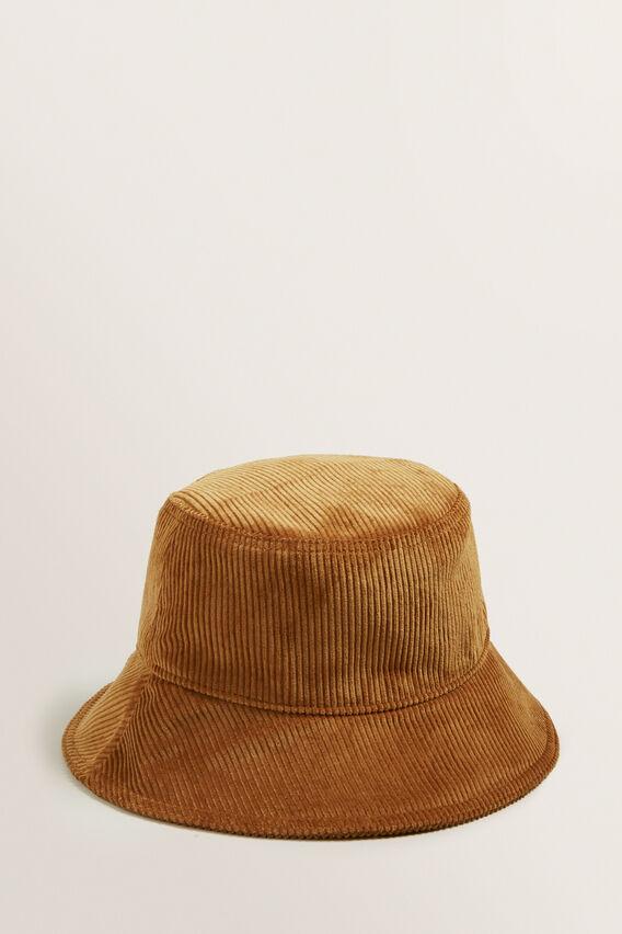 Cord Bucket Hat  TAN  hi-res