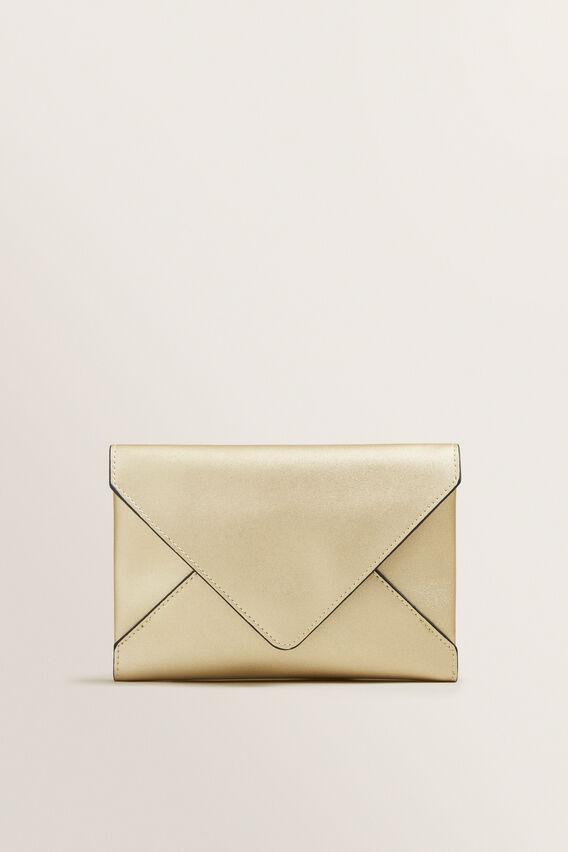 Envelope Clutch  GOLD  hi-res