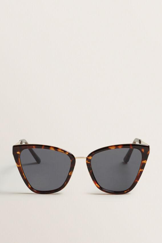 Dana Cat Eye Sunglasses  DARK TORT  hi-res
