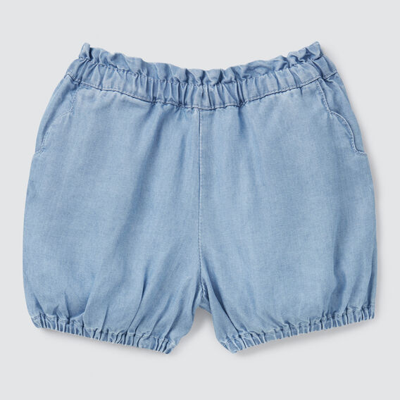 Scalloped Shorts  SUMMER BLUE  hi-res