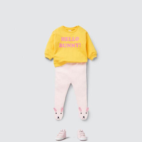 Bunny Foot Legging  ICE PINK  hi-res