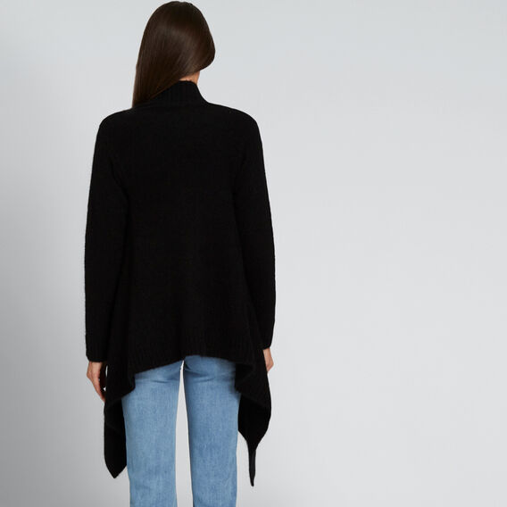 Luxe Mohair Cardigan  BLACK  hi-res