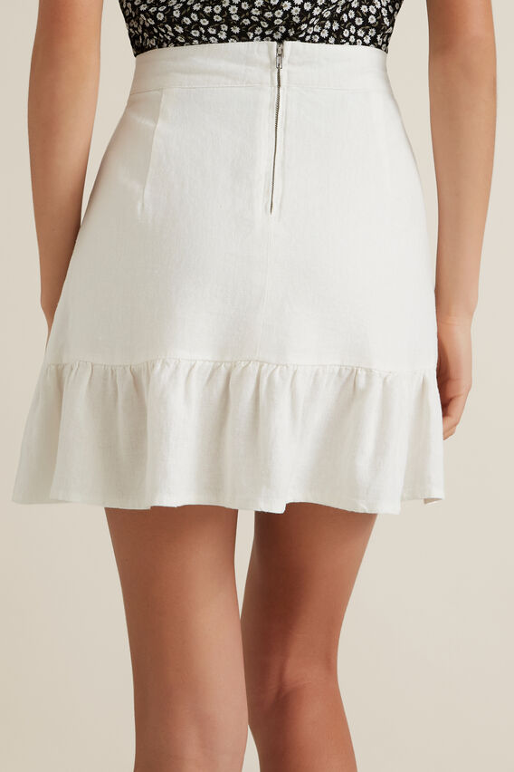 Frill Skirt  CANVAS  hi-res