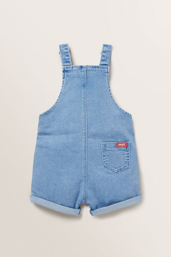Denim Terry Overalls  BRIGHT WASH  hi-res