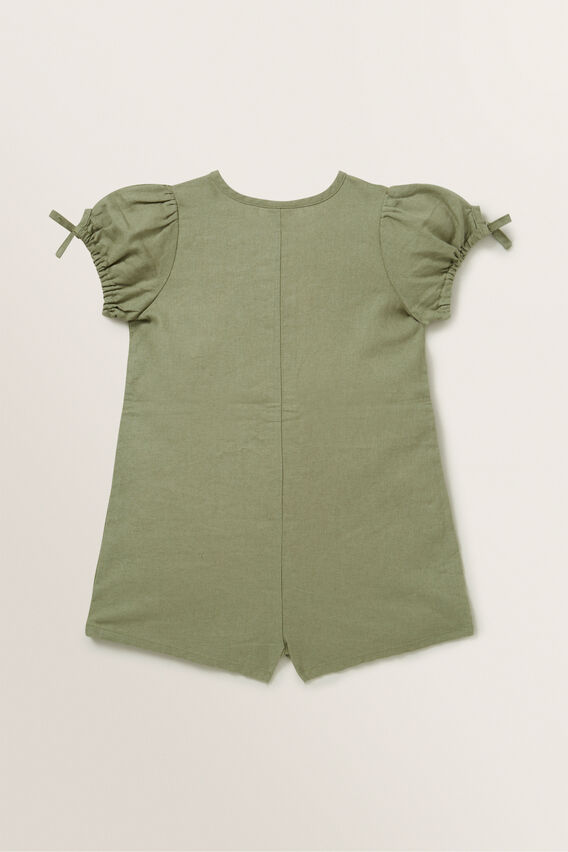 Utility Playsuit  PALE KHAKI  hi-res