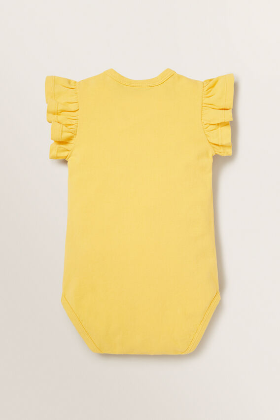 Frill Bodysuit  SUNFLOWER  hi-res
