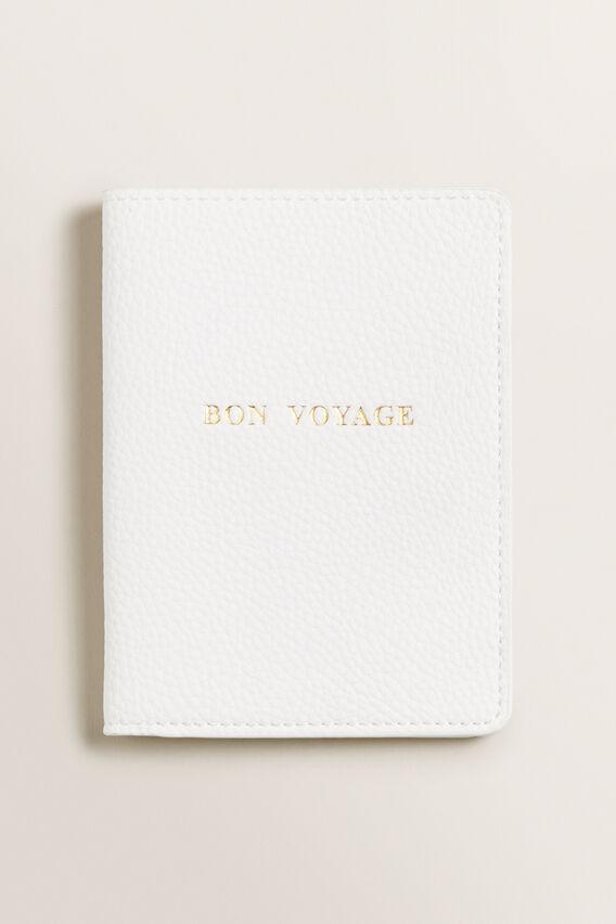 Passport Holder  WHITE  hi-res
